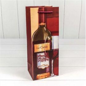 Пакет подарочный Вино
